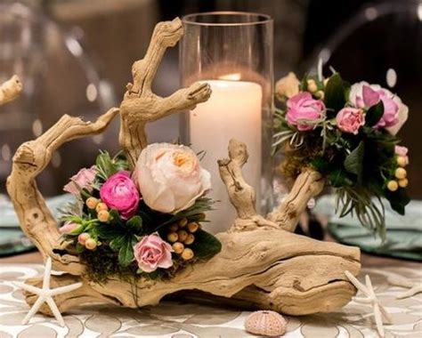 Bride And Groom Table Decor 64 Driftwood Wedding Decor Ideas To Rock Happywedd Com