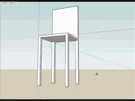 chair tutorial google sketchup how to make a pro chair on google sketch up youtube