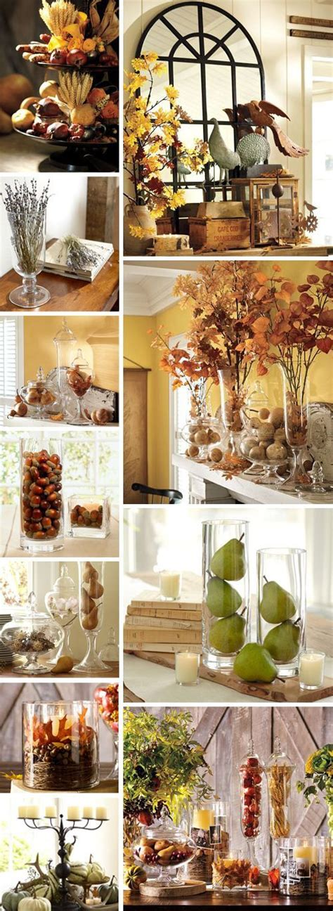 pottery decorating ideas beautiful fall home decor ideas pictures photos and