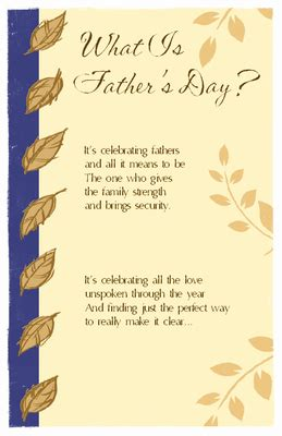 fathers day fathers day printable cards happy fathers day message fathers day