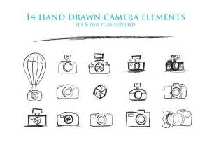 sketch cameras clipart by joanne marie thehungryjpeg com