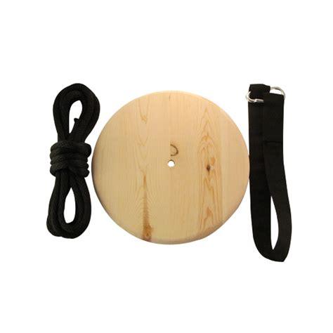 wood disc swing wood disc swing round tree swing wooden tree swings