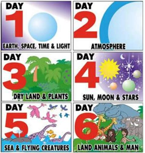 best 25 days of creation ideas on