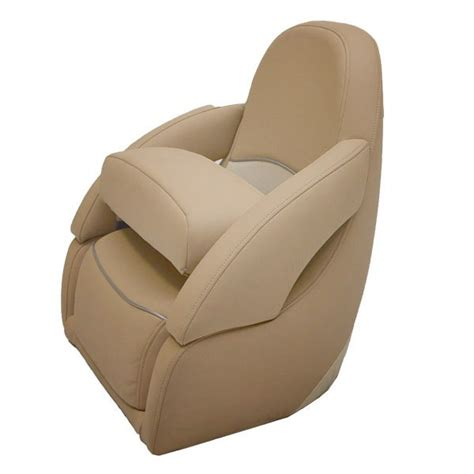 boat helm chairs carver marquis yachts beige vinyl boat bolster helm seat