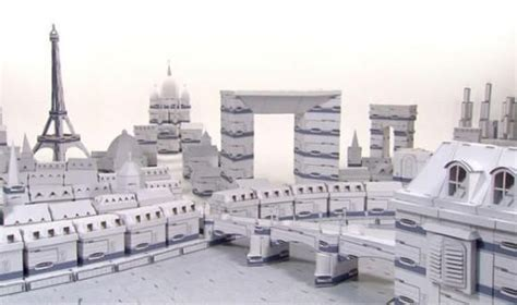 How To Make A City Out Of Paper - cities of the world recreated in cardboard