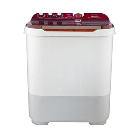 Mesin Cuci 2 Tabung Sharp 7 Kg sharp daftar harga mesin cuci termurah dan terbaru
