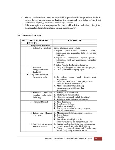 cara penulisan skripsi pdf sistematika penulisan proposal skripsi penelitian