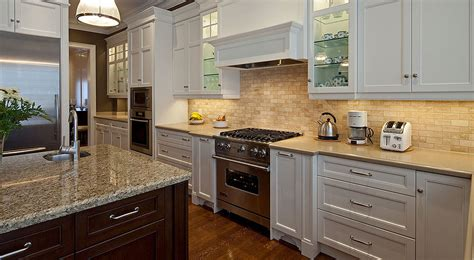 Kitchen Designs White Cabinets The Best Backsplash Ideas For Black Granite Countertops
