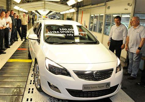 Car Parts Ellesmere Port by Vauxhall S Ellesmere Port Plant Celebrates 100 000th Astra