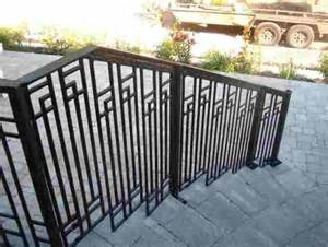 Cast Iron Handrails For Stairs by Cast Iron Metal Railings For Stairs Porches And Decks