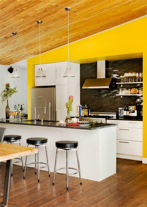 wand küche wohnzimmer design wand