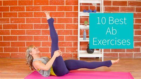 10 best ab exercises