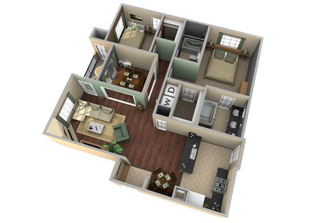 3d apartment floor plan design extraordinary 8 home design