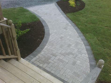 walkway designs pavers images