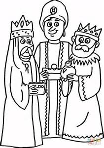 3 kings coloring page free printable coloring pages