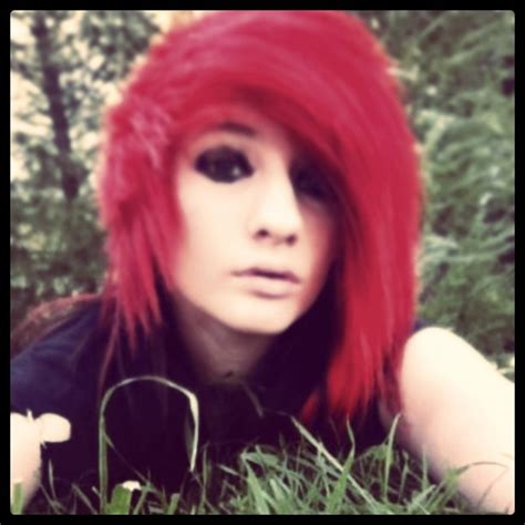 emo hairstyles for redheads 2807 best emo scene hairstyles images on pinterest emo