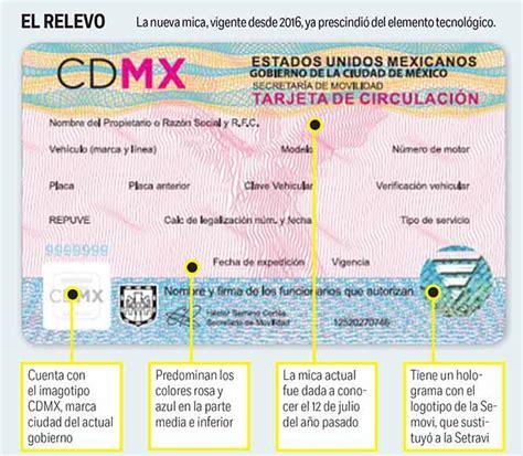 tarjeta de circulacion de vehiculos tarjetas de circulaci 243 n con chip nunca sirvieron