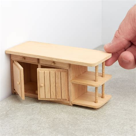 unfinished wood kitchen island unfinished wood dollhouse kitchen island miniature