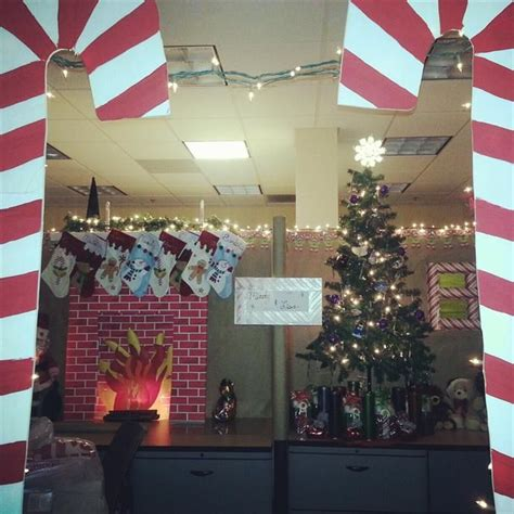 166 best images about cubicle christmas office decorating