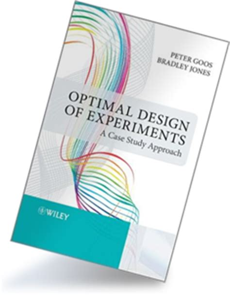 jmp design of experiment guide optimal design of experiments a case study approach jmp
