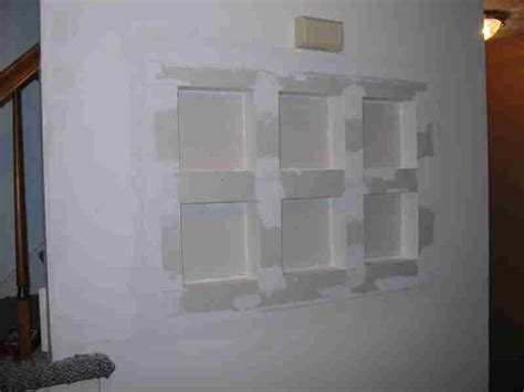 Drywall Shelf by Recessed Shelf Project