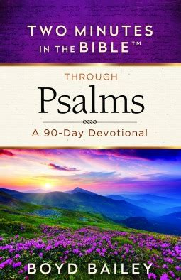 two minutes in the bible 174 through psalms a 90 day