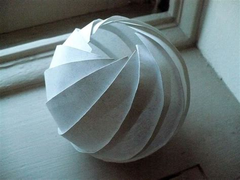 How To Make A Sphere With Paper - 7459 best fold and cut images on origami paper