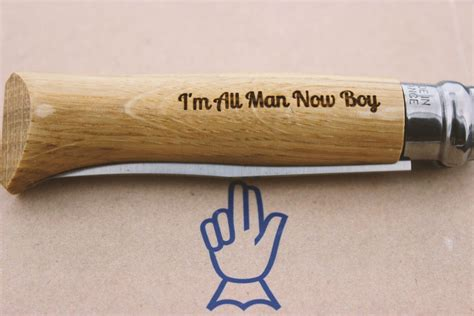 opinel engraving opinel engraving personalize customize your knife