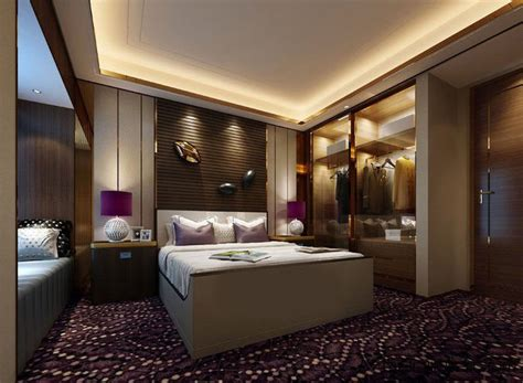 realistic hotel room design 014 3d cgtrader