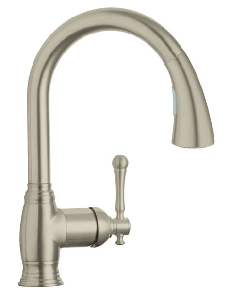 grohe kitchen sink faucets faucet 33870en1 in brushed nickel by grohe