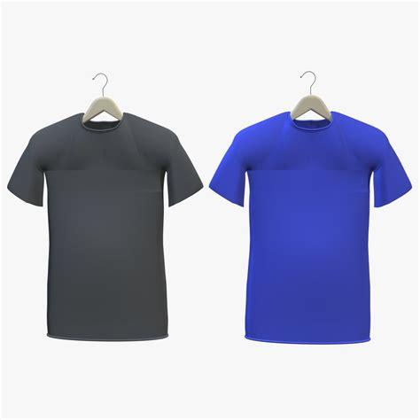 Hanger Zara Dewasa Model Polos t shirts hanger shirt 3d model