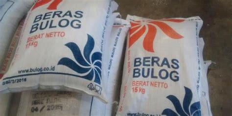 Karung Bulog 15 Kg agar bisa dijual lebih mahal beras bulog dikemas ke