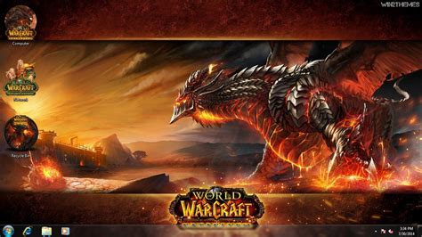 theme windows 7 world of warcraft world of warcraft theme for windows 7 8 and 10 win2themes