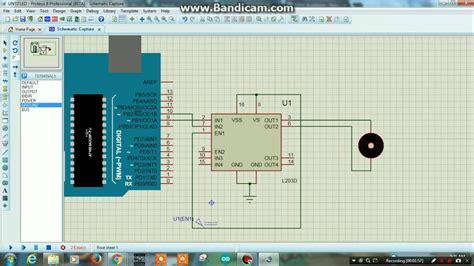 arduino tutorial dc motor pwm controlling of a dc motor using l293d arduino proteus
