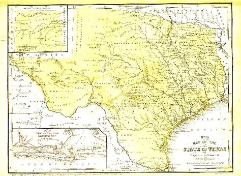 texas history map texas map 1852 sequence 1 the portal to texas history