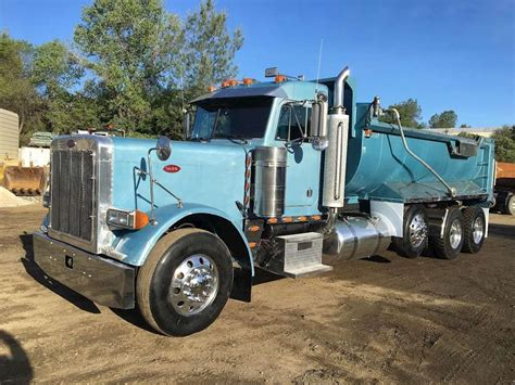 peterbilt dump truck 1997 peterbilt 379 heavy duty dump truck for sale 764 880