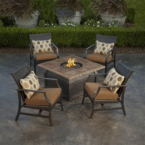 patio furniture with pit pit design ideas