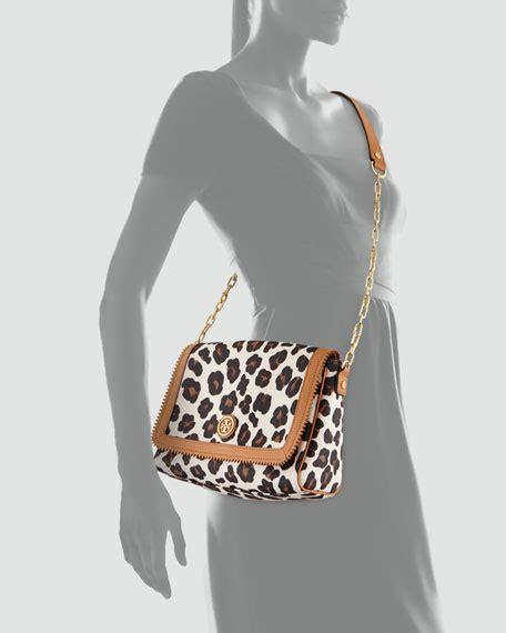 Burch Kerrington Crossbody 1 burch kerrington leopard print crossbody bag