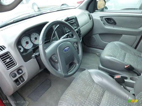 2001 ford escape xls v6 4wd interior color photos