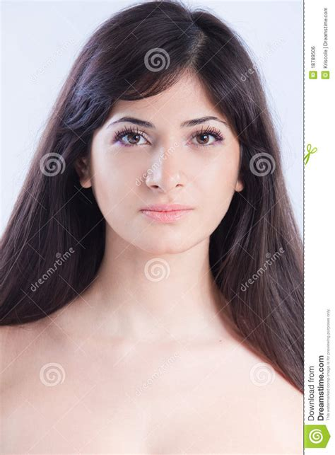 pictures of fat brown haired woman aged around fifty to sixty pretty woman with long brown hair stock photo image