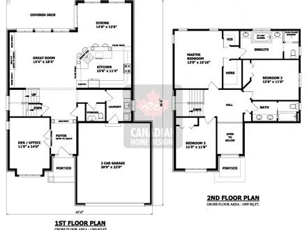 2 storey modern house floor plan 2 story house floor plans 2 storey house design plan 2
