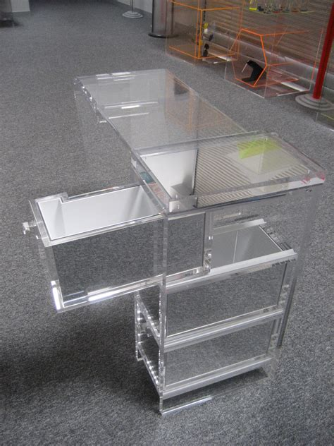 acrylic office furniture custom acrylic furniture design architectural plastics