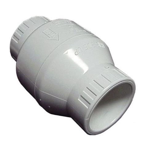 spears swing check valve spears s1520 30 3 quot pvc utility swing check valve
