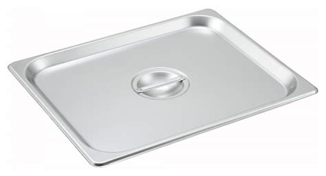 1 2 size steam pan winco spsch solid cover for steam pan 1 2 size