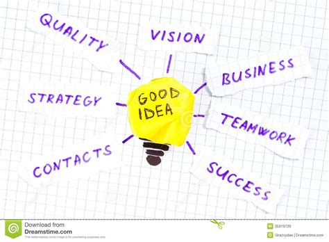 what a good idea to do and of all the memories made from good idea stock image image of concepts invention light