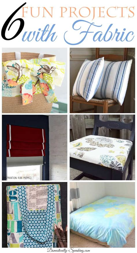 craft projects with fabric friday features