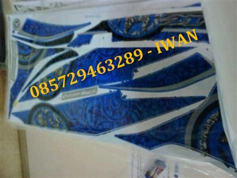 Striping Jupiter Mx New Woviatar Biru striping model thailand yamaha new jupiter mx 5 speed iwan striping stiker motor