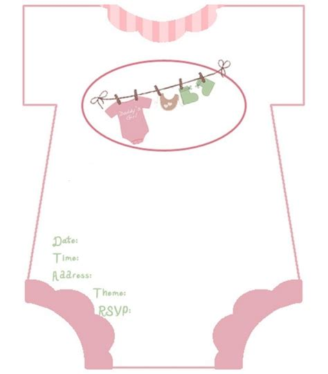 baby shower invitation template wblqual com