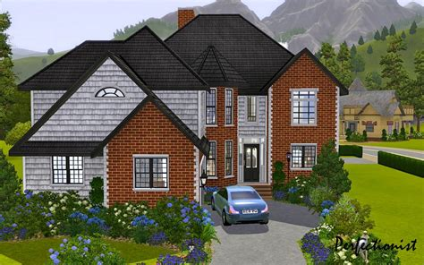 mod the sims 5 bedroom european style house ts3