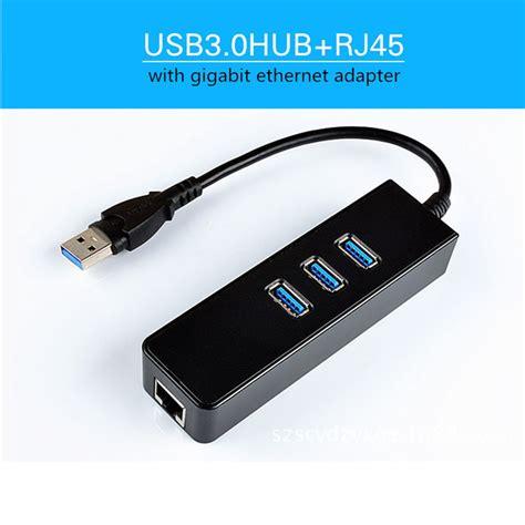 Ethernet Usb 3 Amazonbasics by Noyokere Usb 3 0 1000mbps Gigabit Ethernet Adapter Usb To Rj45 Lan Network Card 3 Port Usb3 0